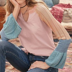 NWT Sundance Cozy LS Top